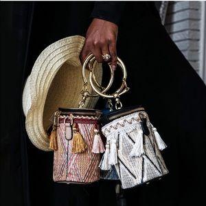 Karis' Kloset Bags - Zip Up Tassel Bucket Bag 🖤